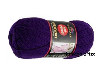 Příze Everyday 70009 fialová  pletací a háčkovací příze, 100% akryl