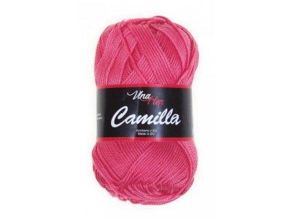 Příze Camilla 8006 lososová sytá  pletací a háčkovací příze, 100% bavlna
