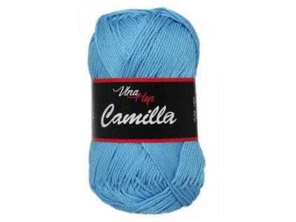 Příze Camilla 8094 modrá  PLETACÍ A HÁČKOVACÍ PŘÍZE