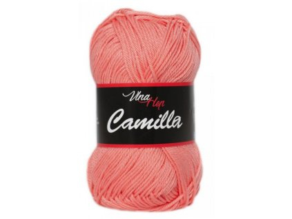 Příze Camilla  8014 lososová  pletací a háčkovací příze, 100% bavlna