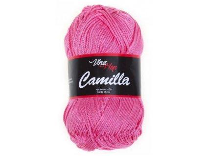 Příze Camilla 8033 světle malinová  100% bavlna