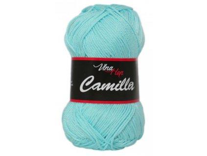 Příze Camilla 8122 pastelově modrá  PLETACÍ A HÁČKOVACÍ PŘÍZE 100% bavlna