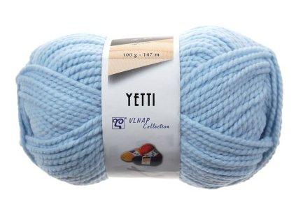 Příze Yetti 56220 světle modrá  100% akryl