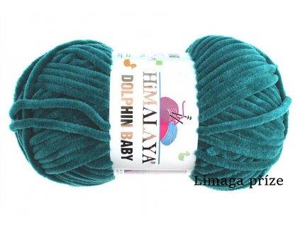 Příze Dolphin baby 80348 smaragdová zelená