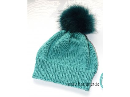 čepice zelena 1