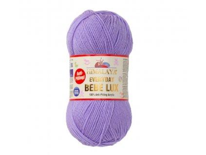 Everyday bebe lux 70409 fialová  pletací a háčkovací příze