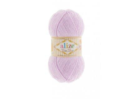 Baby Best 27 pastelově fialová  PLETACÍ A HÁČKOVACÍ PŘÍZE DĚTSKÉ