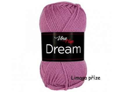 příze Dream 6413 růžová brusinka  100% MERINO VLNA PLETACÍ A HÁČKOVACÍ PŘÍZE