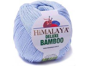 Příze Deluxe Bamboo 124-13 světle modrá