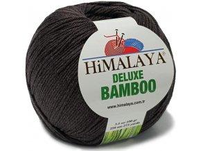 Příze Deluxe Bamboo 124-23 tmavě hnědá
