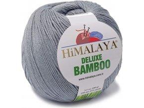 Příze Deluxe Bamboo 124-26 tmavě šedá  Pletací a háčkovací příze