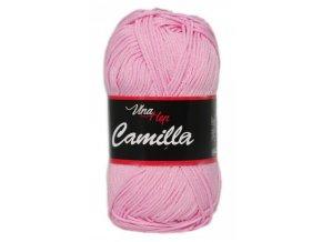 Příze Camilla 8038 jemně růžová  100% bavlna
