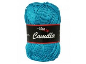 Příze Camilla 8125 tmavě tyrkysová  100% bavlna