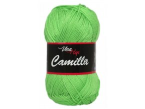 Příze Camilla 8155 jarní zelená  PLETACÍ A HÁČKOVACÍ PŘÍZE