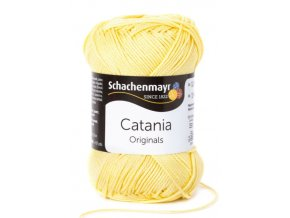 Catania 403 vanilka  pletací a háčkovací příze, 100% bavlna