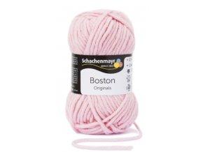 Příze Boston 134 růžová  70% AKRYL, 30% STŘIŽNÍ VLNA
