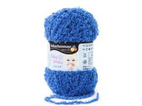 Příze LENJA SOFT 1052 modrá  100% polyester