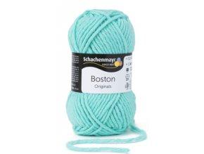 Příze Boston 066 peprmintová  70% akryl, 30% střižní vlna