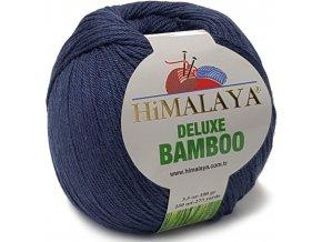 Příze Deluxe Bamboo 124-28 tmavě modrá  Pletací a háčkovací příze