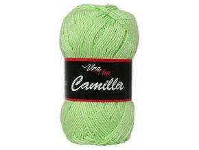 Příze Camilla 8158 pastelově zelená  Pletací a háčkovací příze