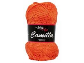 Příze Camilla 8301 oranžova  Pletací a háčkovací příze