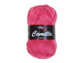 Příze Camilla 8006 lososová sytá  100% bavlna