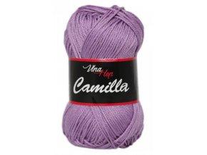 Příze Camilla 8054 levandulová  100% bavlna