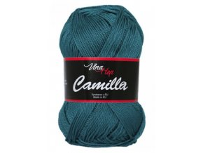 Příze Camilla 8132 petrolejová  Pletací a háčkovací příze