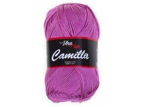 Příze Camilla  8045 fialovo-růžová  100% bavlna