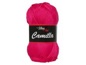 Příze Camilla 8036 malinová  100% bavlna