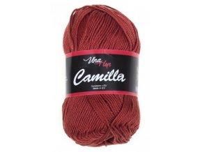 Příze Camilla 8238 terakota  Pletací a háčkovací příze