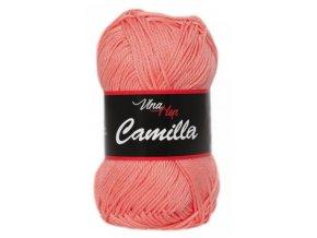 Příze Camilla  8014 lososová  100% bavlna