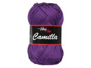 Příze Camilla 8057 tmavě fialová  100% bavlna