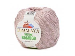 Příze Deluxe Bamboo 124-30 pudrová  40% bavlna 60% bambus