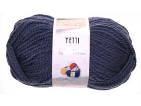 Příze Yetti 56510 šedo modrá  100% bavlna