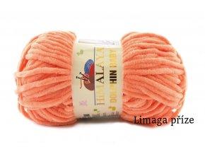 Příze Dolphin baby 80355 oranžová - pomerančová
