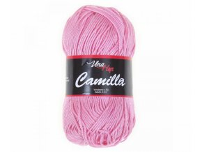Příze Camilla 8027 světle růžová