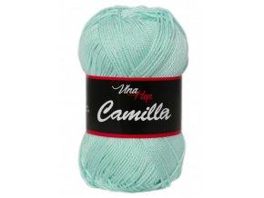 Příze Camilla 8136 mentolová  pletací a háčkovací příze, 100% bavlna