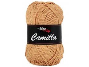 Příze Camilla 8209 světle skořicová  pletací a háčkovací příze, 100% bavlna