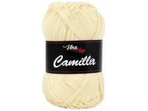Příze Camilla 8185 světle vanilková  pletací a háčkovací příze, 100% bavlna