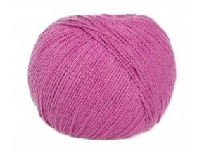 Příze Jeans 8045 fialovo-růžová  PLETACÍ A HÁČKOVACÍ PŘÍZE