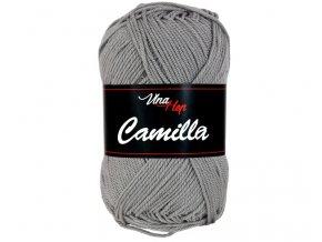 Příze Camilla 8234 kovově šedá