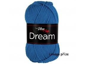 příze Dream 6408 tyrkysově modrá  100% MERINO VLNA PLETACÍ A HÁČKOVACÍ PŘÍZE