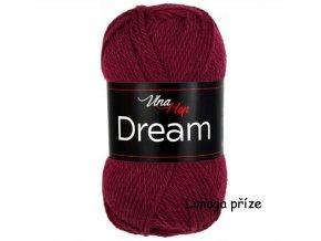 příze Dream 6412  bordó  100% MERINO VLNA PLETACÍ A HÁČKOVACÍ PŘÍZE