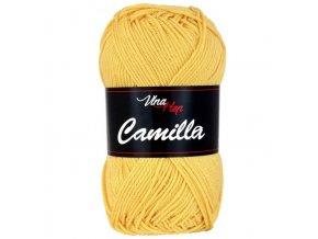 Příze Camilla 8187 béžově žlutá  pletací a háčkovací příze, 100% bavlna