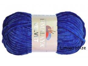 příze Velvet 90029 královská modrá  PLETACÍ A HÁČKOVACÍ PŘÍZE