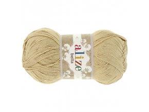 Příze Bella 76 béžová  pletací a háčkovací příze, 100% bavlna