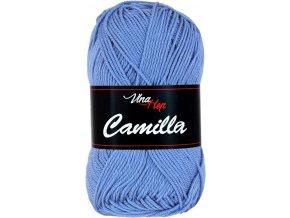 Příze Camilla 8093 modrá luční  pletací a háčkovací příze, 100% bavlna