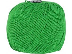 Příze Jeans 8147 zelená  PLETACÍ A HÁČKOVACÍ PŘÍZE