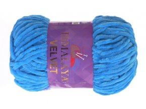 příze Velvet 90027 nebesky modrá